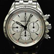 Universal Genève Steel 37 mmmm Manual winding universal geneve 884425 new