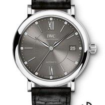 IWC Portofino Automatic Steel 37mm Grey Roman numerals
