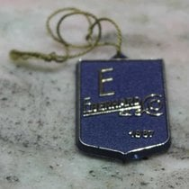 Eberhard & Co. vintage big blu plastic tag very nice and rare