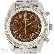 Breitling Uhr Bentley Motors Chronograph Edelstahl Ref. A25362