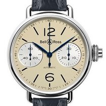 Bell & Ross Vintage Steel 45mm Arabic numerals United States of America, New York, Greenvale