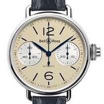 Bell & Ross WW1 Vintage Monopusher Chronograph Stainless...