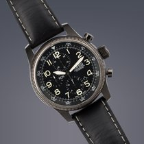 Oris Big Crown Timer stainless steel automatic chronograph watch