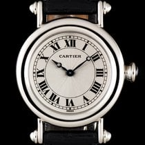 Cartier Diabolo pre-owned 32mm Platinum