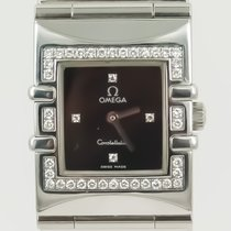 Omega Constellation Quadra Diamonds