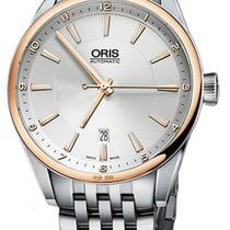 Oris Artix Date Gold/Steel 42mm Silver United States of America, New York, Airmont