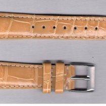 Gold Alligator Strap 20/16 For Rolex/Omega/Longines/Tag Heuer