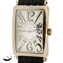 Franck Muller Long Island 1000 Sc 18k White Gold Automatic W/...