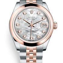 Rolex Datejust Everose Gold & Stainless Steel &...