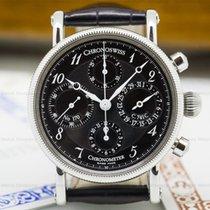 Chronoswiss CH7523CD Chronometer Chronograph SS Black Dial...