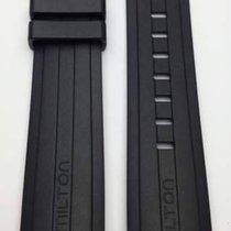 Hamilton Bracelet nouveau Caoutchouc Khaki X-Wind