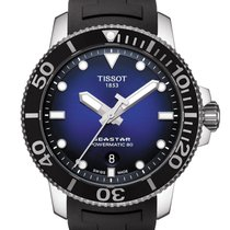 Tissot 43mm Automatic 2018 new Seastar 1000 Blue