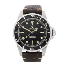 Rolex Submariner Pointy Crown Guard Meters First Stainless...