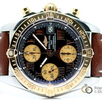 Breitling Chrono Cockpit Gold/Steel 39mm Black Roman numerals