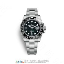 Rolex GMT-Master II Steel 40mm Black