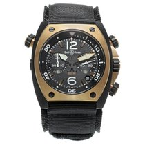 Bell & Ross BR 02 Steel 44mm Black Arabic numerals United States of America, New York, NYC
