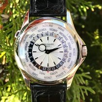 Patek Philippe 5130G-001 Or blanc 2007 World Time 39.5mm occasion