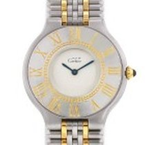 Cartier 21 Must de Cartier occasion 30mm Or/Acier