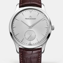 Jaeger-LeCoultre Master Grande Ultra Thin Stahl 40mm Silber