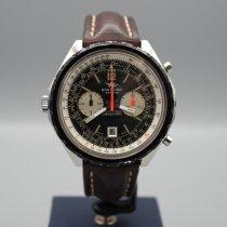 Breitling Chronograph 48mm Automatik 1970 gebraucht Chrono-Matic (submodel) Schwarz