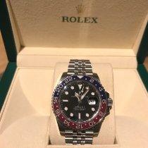 Rolex 126710BLRO Steel 2017 GMT-Master II 40mm pre-owned United Kingdom, London