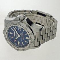 Breitling Avenger Seawolf gebraucht 45mm Blau Datum Stahl