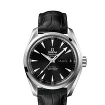 Omega Seamaster Aqua Terra Steel 38.5mm Black No numerals United States of America, New Jersey, Princeton