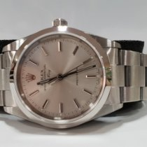 Rolex Air King Precision Acero 34mm Plata