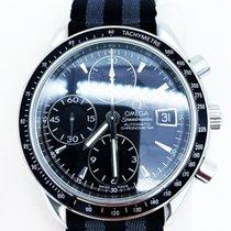 Omega Speedmaster Date Staal 40mm Zwart Geen cijfers