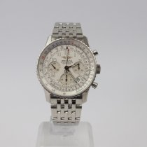 Breitling Navitimer Steel 42mm White United Kingdom, Swansea