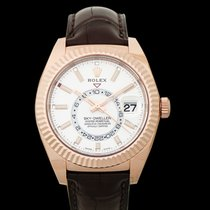 Rolex Sky-Dweller Rose gold 42mm White United States of America, California, San Mateo