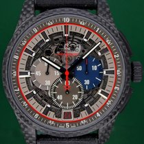 Zenith Carbon Automatic 45mm pre-owned El Primero Lightweight