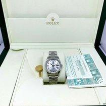 Rolex Platin 36mm Automatik 118206 gebraucht
