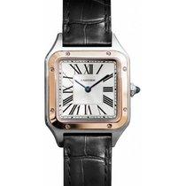 Cartier Santos Dumont W2SA0012 Neu Gold/Stahl 38mm Quarz