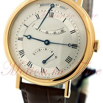 Breguet Classique Yellow gold 39mm Silver Roman numerals United States of America, New York, New York