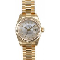 Rolex President 179178 Lady's 18K Yellow Gold Heavy Band...