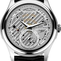 Armand Nicolet Steel 43mm Manual winding A750AAA-AG-P713NR2 new
