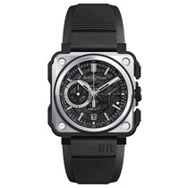 Bell & Ross Men's BRX1-CE-TI-BLC Black  Titanium ...