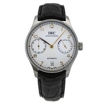 IWC Steel Automatic Silver 42.3mm new Portuguese Automatic