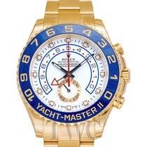 Rolex Yacht-Master II Oro amarillo 44.00mm Blanco