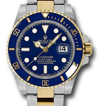 Rolex Submariner Date Blue Dial Some taken Stickers off