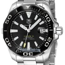 TAG Heuer Aquaracer Steel 41mm Black United States of America, New York, Airmont