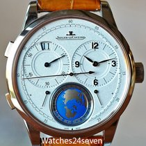 Jaeger-LeCoultre Duometre Travel Time Globe Dial Rose Gold,...