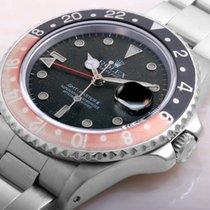 """ロレックス (Rolex) 1984 Vintage GMT Master ll Coke Bezel """"FAT LADY""""..."""