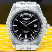 Breitling A45355 Headwind Day Date SS / SS Black Dial (27973)