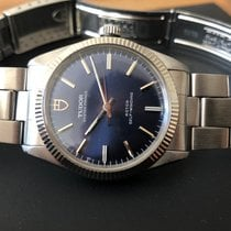Tudor Oyster Prince Steel 34mm Blue No numerals