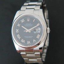 Rolex 36mm Remontage automatique 2010 occasion Datejust (Submodel) Noir
