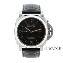 Panerai Luminor Marina 1950 3 Days Automatic Acier 44mm Noir Arabes France, Paris