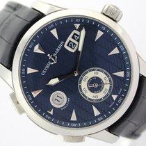 Ulysse Nardin Dual Time Manufacture Blue Dial