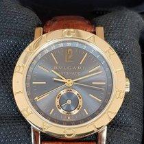 Bulgari Annual Calendar Men's Automatic Gray Dial Watch